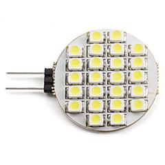 abordables Ampoules LED-2W 6000lm G4 Spot LED 24 Perles LED SMD 3528 Blanc Naturel 12V