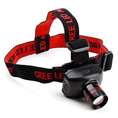 LED taskulamput Otsalamput LED 480 Lumenia 3 Tila Cree XR-E Q5 Patterit eivät sisälly hintaan Säädettävä fokus Erityiskevyet Kompakti