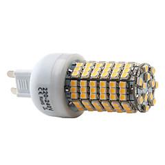 tanie Żarówki LED-2800 lm G9 Żarówki LED kukurydza T 138 Diody lED SMD 3528 Ciepła biel AC 220-240V