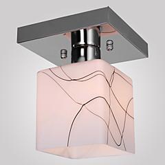 abordables Luces LED de Techo-SL® Montage de Flujo Luz Ambiente Galvanizado Metal Vidrio Mini Estilo 110-120V / 220-240V Bombilla no incluida / E26 / E27