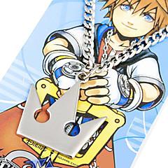 olcso Állat jelmezek-Ékszerek Ihlette Kingdom Hearts Sora Anime/Videójátékok Szerepjáték Kiegészítők Nyaklánc Ezüst Ötvözet Férfi