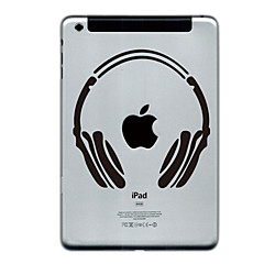 Headset Design Protector Sticker for iPad mini 3, iPad mini 2, iPad mini