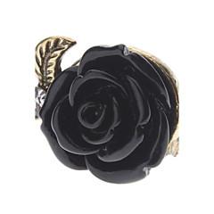 Anillos de Diseño Legierung Forma de Flor Rose Joyas Para Diario 1 pieza