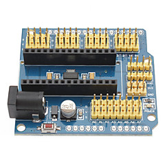 お買い得  マザーボード-(Arduinoのための)ナノUNOのプロトタイプシールドprotoshield拡張ボードDuemilanoveの
