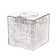 maze moneta pieniądze pudełko puzzle nagroda oszczędności bankowych