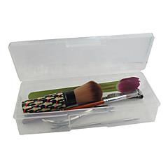 billige Andre Værktøjer-Clear Plastic Nail Art værktøjsopbevaring Box (19x7.5x4cm)