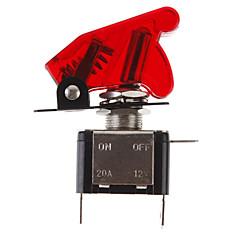 diy κόκκινη LED Φωτεινές εναλλαγή διακόπτη on / off για το αυτοκίνητο (12v 20a)