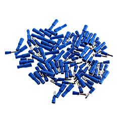 abordables Conectores y Terminales-Aislado Bullet Style macho y hembra Juego de conectores de terminales - Azul (50-Pair Pack)