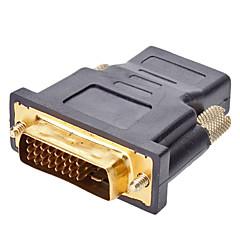 HDMI V1.3 / V1.4 İçin HDMI M / F Adaptörü DVI 24 + 1
