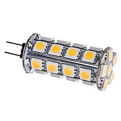 g4 led corn lichten 30 smd 5050 310lm warm wit 3000k dc 12v