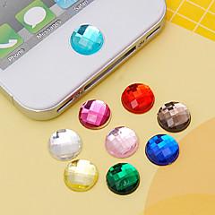 joylandアクリルボタンステッカー(ランダム色)iphone 8 7のためのDIY samsung galaxy s8 s7