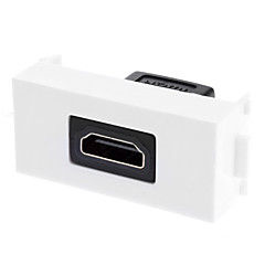 kétrészes süllyesztett fali lemez-rugalmas V1.4 nagy sebességű HDMI Ethernet - egyetlen port (1p)