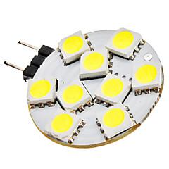 cheap LED Bulbs-SENCART 120 lm G4 LED Bi-pin Lights 9 leds SMD 5050 Warm White Cold White DC 12V