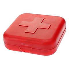 billige -Pilleboks/etui til rejsebrug Bærbar for Rejsenødhjælp