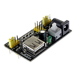 MB102 빵 보드 3.3V / 5V 전원 공급 장치 모듈 - 블랙