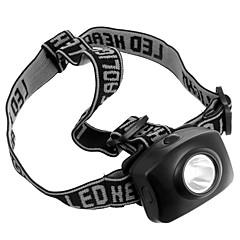 Lanternas LED Lanternas de Cabeça LED 50 Lumens 1 Modo Baterias não incluídas Tático para Campismo / Escursão / Espeleologismo Uso Diário