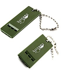 cheap Emergency & Survival-Survival Whistle Hiking Survival Whistle Plastic pcs