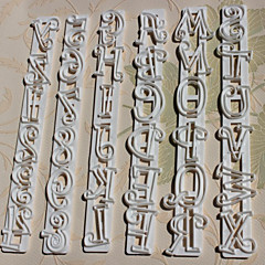 Χαμηλού Κόστους Εργαλεία και γκάτζετ ψησίματος-Αριθμοί 6pcs/set + Γράμματα Cake Κόφτες Mold Shape