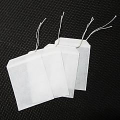 100db nem szőtt filteres tea zsineggel szűrővel tea infuser gyógynövény filter