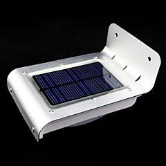 lámparas de energía solar al aire libre de 16 led del sensor de movimiento del detector de seguridad jardín luz