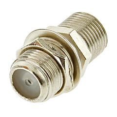 abordables Cables de Audio y Vídeo-F Tipo de conector Jack hembra a Jack F Female chasis acoplador