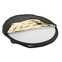 80cm 5-en-1 plegable redondo Junta Reflector flash Panel VFS-145 538 para la cámara