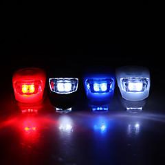 economico -Luci bici luci di sicurezza Luce frontale per bici LED Ciclismo CR2032 Lumens Batteria Ciclismo