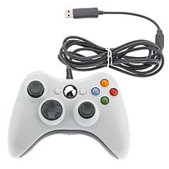 Filaire USB Game Pad Controller pour Microsoft Xbox 360 Slim & PC sous Windows