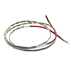 お買い得  LED ストリングライト-0.9m フレキシブルLEDライトストリップ 54 LED 5630 SMD ホワイト 12 V / #
