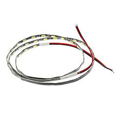 preiswerte LED Lichtstreifen-0.9m Flexible LED-Leuchtstreifen 54 LEDs 5630 SMD Weiß 12 V