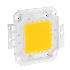 DIY 80W 6350-6400LM 2400mA 3000-3500K varmt hvidt lys integreret LED-modul (30-36V)
