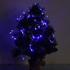 preiswerte LED Lichtstreifen-4m 40 leds blaue weihnachtsdekorative lampenserie batteriebetrieben