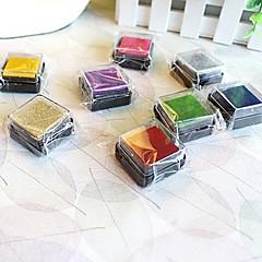 tanie Artykuły biurowe-6 sztuk kolorowych drewnianych Stamp Set