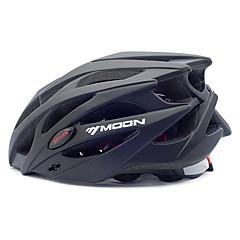 MOON® Unisex Cykel Hjälm 21 Ventiler Cykelsport Cykling Bergscykling Vägcykling Rekreation Cykling L: 58-61CM M: 55-58CM PC eps Svart
