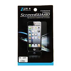 Protezione trasparente dello schermo per Sony LT22i