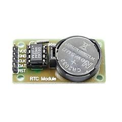 Χαμηλού Κόστους Αξεσουάρ-DS1302 σε πραγματικό χρόνο ενότητα ρολόι με μπαταρία CR2032 αίτηση (για Arduino) (λειτουργεί με την επίσημη (για arduino) Πίνακες)