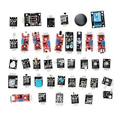 お買い得  センサー-Arduino用センサーモジュールキット(37種入り、オフィシャルボード動作確認済み]