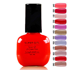 abordables Arte de Uñas Frutal-Super Girl Gorgeous empapa del color de UV Gel No.49-60 (1PCS 7ml, colores surtidos)