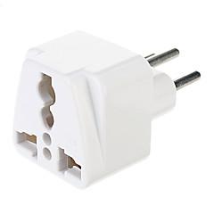 tanie Kable zasilające i adaptery AC-Szwajcaria Uniwersalny zasilacz (biały)