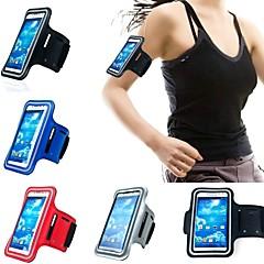 vékony divatos 5,1 hüvelyk sport karszalag Samsung Galaxy S5 / S4 / S3 és más mobiltelefonok (vegyes színek)