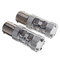 preiswerte LED Autobirnen-P21W 5W 680-750lm 12-LED Auto-Birnen-Weiß (12V)