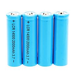 preiswerte Heimwerker Artikel und Werkzeug-14500 2000mAh Batterie (4 St.)