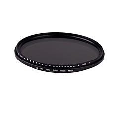 77mm Slim Fader Variabele ND Filter Verstelbare ND2 naar Neutral Density ND400