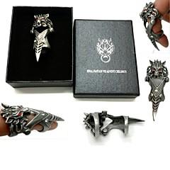 Bijuterii Inspirat de Final Fantasy Cosplay Anime/ Jocuri Video Accesorii Cosplay inel Argintiu Aliaj Bărbătesc