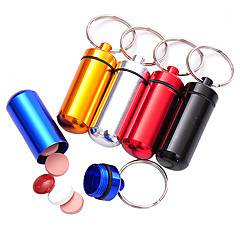 cheap Emergency & Survival-Pill Case Hiking Waterproof Compact Size Plastic pcs