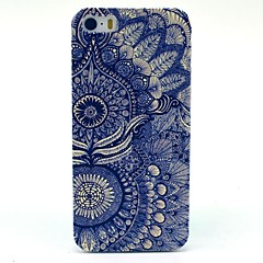 Para Funda iPhone 5 Diseños Funda Cubierta Trasera Funda Flor Dura Policarbonato iPhone 7 Plus / iPhone 7 / iPhone SE/5s/5