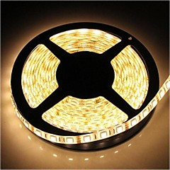 ZDM™ Waterproof 5M 72W 300*5050 SMD 4800LM  Warm White Light LED Strip Lamp(DC12V)