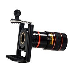 voordelige Weekaanbiedingen-Kunststof Lens met lange brandpuntafstand 8X Lens met standaard S4 iPhone 5