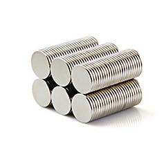 halpa -Magneettilelut 50 Pieces 10*1 MM Magneettilelut Rakennuspalikat Super Strong harvinaisten maametallien Magneetit Executive lelut Puzzle