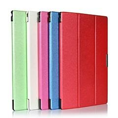 Folding cuero Ultra-delgado soporte Folio flip caso de la piel para Sony Tablet Z2
